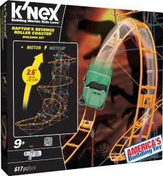 ケネックス ブロック おもちゃ ジェットコースター ビルディングセット K'nex Raptors Revenge Roller Coaster