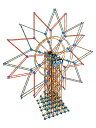 ケネックス ブロック おもちゃ ダブル 観覧車 ビルディングセット K'NEX Giant 6' Double Ferris Wheel
