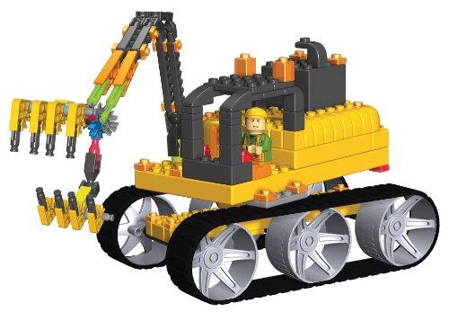 ケネックス ブロック おもちゃ コレクト&ビルド 建設工事シリーズ ジャイアント ショベル K'NEX Collect Build Construction Series #2 Giant Excavator