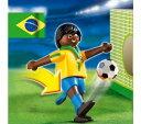 プレイモービル 4707 サッカー ブラジル選手 Playm...