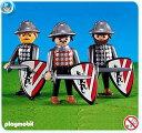 プレイモービル 7664 3人のブラックライオン騎士団 Playmobil Black Lion Knights (3)