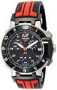 ティソ 腕時計 メンズ 時計 Tissot Men's T0484172720701 T-Race MotoGP Limited Edition Analog Display Swiss Quartz Red Watch