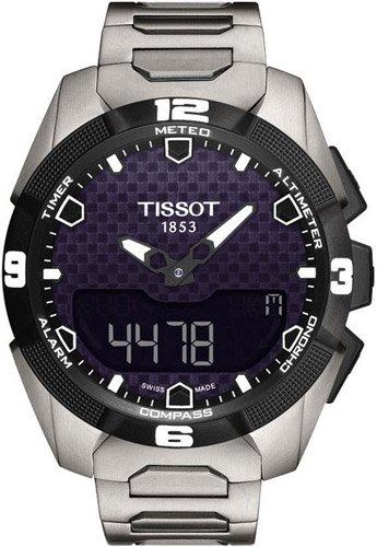 ティソ 腕時計 メンズ 時計 Tissot T-Touch Expert Solar Black Dial Stainless Steel Mens Watch T0914204405100 ティソ 腕時計 メンズ 時計 Tissot T-Touch Expert Solar Black Dial Stainless Steel Mens Watch T0914204405100
