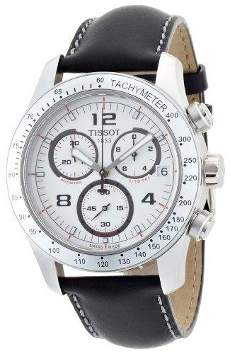 ティソ 腕時計 メンズ 時計 Tissot Men's T0394171603700 V8 Chronograph White Chronograph Dial Watch ティソ 腕時計 メンズ 時計 Tissot Men's T0394171603700 V8 Chronograph White Chronograph Dial Watch