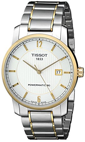 ティソ 腕時計 メンズ 時計 Tissot Men's T0874075503700 T-Classic Analog Display Swiss Automatic Silver Watch ティソ 腕時計 メンズ 時計 Tissot Men's T0874075503700 T-Classic Analog Display Swiss Automatic Silver Watch