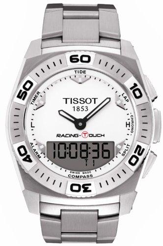 ティソ 腕時計 メンズ 時計 Mens Watch Tissot T0025201103100 T-Touch T-Touch Racing Analog Digital Stainless ティソ 腕時計 メンズ 時計 Mens Watch Tissot T0025201103100 T-Touch T-Touch Racing Analog Digital Stainless