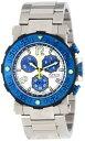 インヴィクタ インビクタ 腕時計 メンズ 時計 Invicta Men's 10586 Reserve Chronograph White Textured Dial Stainless Steel Watch