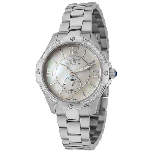 インヴィクタ インビクタ 腕時計 レディース 時計 Invicta Women's 0262 II Collection Diamond Accented Stainless Steel Watch インヴィクタ インビクタ 腕時計 レディース 時計 Invicta Women's 0262 II Collection Diamond Accented Stainless Steel Watch