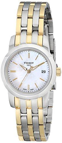 """ティソ 腕時計 レディース 時計 Tissot Women's T0332102211100 """"Classic Dream"""" Analog Display Two-Tone Watch ティソ 腕時計 レディース 時計 Tissot Women's T0332102211100 """"Classic Dream"""" Analog Display Two-Tone Watch"""