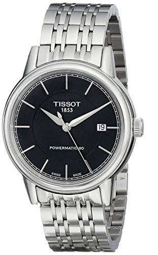 ティソ 腕時計 メンズ 時計 Tissot Men's T0854071105100 T Classic Powermatic Analog Display Swiss Automatic Silver Watch ティソ 腕時計 メンズ 時計 Tissot Men's T0854071105100 T Classic Powermatic Analog Display Swiss Automatic Silver Watch