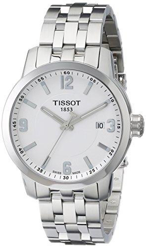 ティソ 腕時計 メンズ 時計 Tissot Men's T0554101101700 PRC 200 Analog Display Swiss Quartz Silver Watch ティソ 腕時計 メンズ 時計 Tissot Men's T0554101101700 PRC 200 Analog Display Swiss Quartz Silver Watch