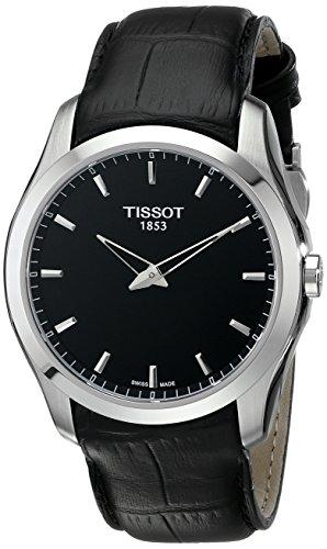 ティソ 腕時計 メンズ 時計 Tissot Men's T0354461605100 Couturier Analog Display Swiss Quartz Black Watch ティソ 腕時計 メンズ 時計 Tissot Men's T0354461605100 Couturier Analog Display Swiss Quartz Black Watch