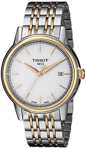 ティソ 腕時計 メンズ 時計 Tissot Men's T0854102201100 Analog Display Quartz Two Tone Watch ティソ 腕時計 メンズ 時計 Tissot Men's T0854102201100 Analog Display Quartz Two Tone Watch