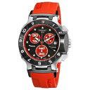 ティソ 腕時計 メンズ 時計 Tissot Men's T0484172705102 Nicky Hayden Limited Edition Black and Red Dial Watch
