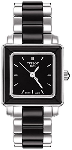 ティソ 腕時計 レディース 時計 Tissot T-Cera Black Ceramic Ladies Watch T064.310.22.051.00 ティソ 腕時計 レディース 時計 Tissot T-Cera Black Ceramic Ladies Watch T064.310.22.051.00
