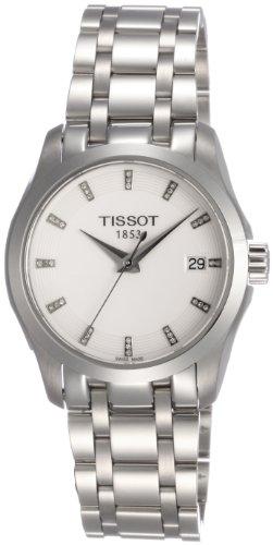 ティソ 腕時計 レディース 時計 Tissot Couturier Silver Dial Stainless Steel Ladies Watch T0352101101600 ティソ 腕時計 レディース 時計 Tissot Couturier Silver Dial Stainless Steel Ladies Watch T0352101101600