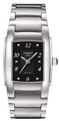 ティソ 腕時計 レディース 時計 Tissot T-10 Black Dial Stainless Steel Ladies Watch Ladies Watch T0733101105701 ティソ 腕時計 レディース 時計 Tissot T-10 Black Dial Stainless Steel Ladies Watch Ladies Watch T0733101105701