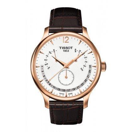 ティソ 腕時計 メンズ 時計 Tissot Tradition Rose Gold-tone Mens Watch T0636393603700 ティソ 腕時計 メンズ 時計 Tissot Tradition Rose Gold-tone Mens Watch T0636393603700