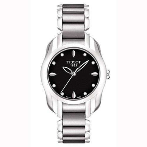 ティソ 腕時計 レディース 時計 Tissot T-Wave Round Black Diamonds Quartz Trend Women's watch #T023.210.11.056.00 ティソ 腕時計 レディース 時計 Tissot T-Wave Round Black Diamonds Quartz Trend Women's watch #T023.210.11.056.00
