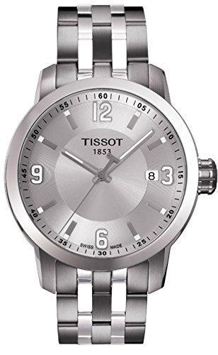 ティソ 腕時計 メンズ 時計 Tissot PRC 200 Quartz Silver Dial Stainless Steel Sport Mens Watch T0554101103700 ティソ 腕時計 メンズ 時計 Tissot PRC 200 Quartz Silver Dial Stainless Steel Sport Mens Watch T0554101103700