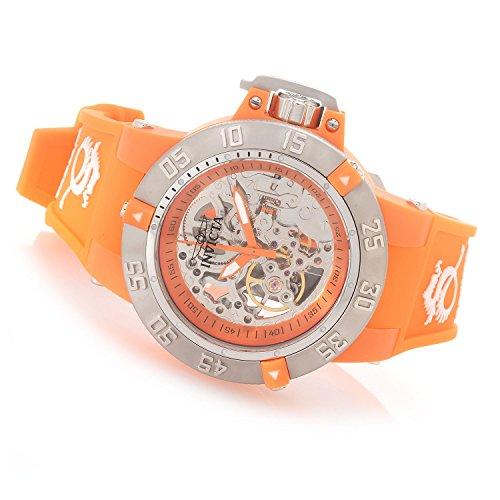 インヴィクタ インビクタ 腕時計 レディース 時計 Invicta Womens Subaqua Noma III Anatomic SS 18 Jewel Seagull Mechanical Orange Watch 16773 インヴィクタ インビクタ 腕時計 レディース 時計 Invicta Womens Subaqua Noma III Anatomic SS 18 Jewel Seagull Mechanical Orange Watch 16773