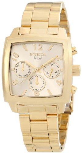 インヴィクタ インビクタ 腕時計 レディース 時計 Invicta Women's 12101 Angel Gold Dial 18k Gold Ion-Plated Stainless Steel Watch インヴィクタ インビクタ 腕時計 レディース 時計 Invicta Women's 12101 Angel Gold Dial 18k Gold Ion-Plated Stainless Steel Watch
