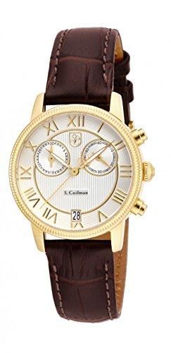 インヴィクタ インビクタ 腕時計 Invicta S. Coifman White Dial Brown Leather Watch SC0331 インヴィクタ インビクタ 腕時計 Invicta S. Coifman White Dial Brown Leather Watch SC0331