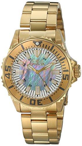 インヴィクタ インビクタ 腕時計 レディース 時計 Invicta Women's 17698 Pro Diver Analog Display Swiss Quartz Gold Watch インヴィクタ インビクタ 腕時計 レディース 時計 Invicta Women's 17698 Pro Diver Analog Display Swiss Quartz Gold Watch