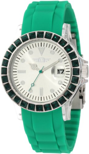 インヴィクタ インビクタ 腕時計 レディース 時計 I by Invicta Women's IBI-10067-002 Silver-Tone Dial Green Polyurethane Watch インヴィクタ インビクタ 腕時計 レディース 時計 I by Invicta Women's IBI-10067-002 Silver-Tone Dial Green Polyurethane Watch