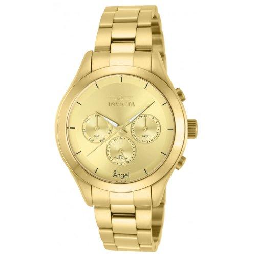 インヴィクタ インビクタ 腕時計 レディース 時計 Invicta Women's 12466 Angel Gold Tone Dial Gold Ion-Plated Stainless Steel Watch インヴィクタ インビクタ 腕時計 レディース 時計 Invicta Women's 12466 Angel Gold Tone Dial Gold Ion-Plated Stainless Steel Watch