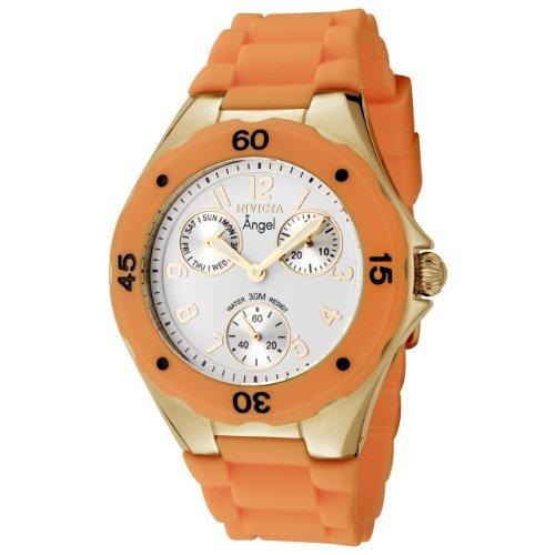 インヴィクタ インビクタ 腕時計 レディース 時計 Invicta Women's 0708 Angel Collection Orange Polyurethane Watch インヴィクタ インビクタ 腕時計 レディース 時計 Invicta Women's 0708 Angel Collection Orange Polyurethane Watch