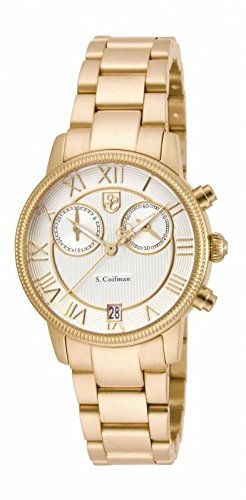 インヴィクタ インビクタ 腕時計 レディース 時計 Invicta S. Coifman Chronograph Champagne Dial Gold-tone Ladies Watch SC0332 インヴィクタ インビクタ 腕時計 レディース 時計 Invicta S. Coifman Chronograph Champagne Dial Gold-tone Ladies Watch SC0332