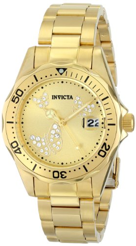 インヴィクタ インビクタ 腕時計 レディース 時計 Invicta Women's 12505 Pro Diver Analog Display Japanese Quartz Gold Watch インヴィクタ インビクタ 腕時計 レディース 時計 Invicta Women's 12505 Pro Diver Analog Display Japanese Quartz Gold Watch