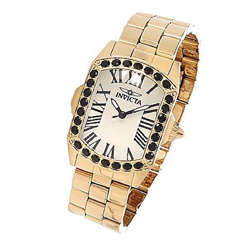 インヴィクタ インビクタ 腕時計 レディース 時計 Invicta Women's Lady Lupah Limited Edition Quartz Black Spinel Stainless Steel Bracelet Watch インヴィクタ インビクタ 腕時計 レディース 時計 Invicta Women's Watch