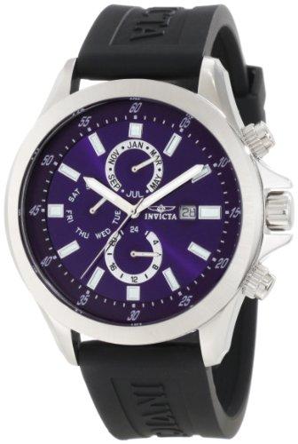 インヴィクタ インビクタ 腕時計 メンズ 時計 Invicta Men's 1837 Specialty Blue Dial Black Polyurethane Watch インヴィクタ インビクタ 腕時計 メンズ 時計 Invicta Men's 1837 Specialty Blue Dial Black Polyurethane Watch