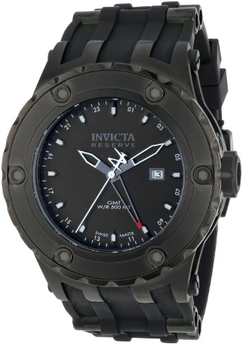 インビクタ 時計 インヴィクタ メンズ 腕時計 Invicta Men's 12043 Subaqua Reserve GMT Black Dial Black Rubber Watch インビクタ 時計 インヴィクタ メンズ 腕時計 Invicta Men's 12043 Subaqua Reserve GMT Black Dial Black Rubber Watch