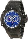 インビクタ 時計 インヴィクタ メンズ 腕時計 Invicta Men's 10194 Subaqua Noma III Chronograph Blue Dial Gunmetal Ion-Plated Stainless Steel Watch