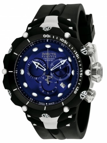 インビクタ 時計 インヴィクタ メンズ 腕時計 Invicta Men's 1519 Reserve Venom II Chronograph Blue Dial Black Polyurethane Watch インビクタ 時計 インヴィクタ メンズ 腕時計 Invicta Men's 1519 Reserve Venom II Chronograph Blue Dial Black Polyurethane Watch