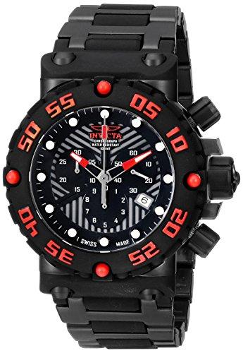 インビクタ 時計 インヴィクタ メンズ 腕時計 Invicta Men's 10045 Subaqua Analog Display Swiss Quartz Black Watch インビクタ 時計 インヴィクタ メンズ 腕時計 Invicta Men's 10045 Subaqua Analog Display Swiss Quartz Black Watch