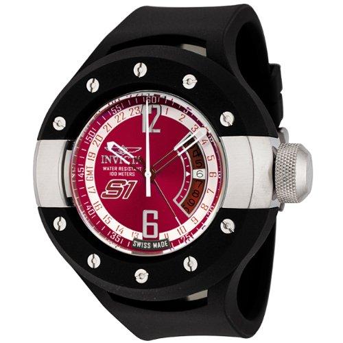 インビクタ 時計 インヴィクタ メンズ 腕時計 Invicta Men's 6843 S1 Collection GMT Chili Pepper Red Dial Polyurethane Watch インビクタ 時計 インヴィクタ メンズ 腕時計 Invicta Men's 6843 S1 Collection GMT Chili Pepper Red Dial Polyurethane Watch