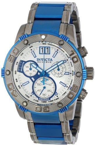 インビクタ 時計 インヴィクタ メンズ 腕時計 Invicta Men's 13932 Reserve Chronograph Silver Dial Two Tone Stainless Steel Watch インビクタ 時計 インヴィクタ メンズ 腕時計 Invicta Men's 13932 Reserve Chronograph Silver Dial Two Tone Stainless Steel Watch