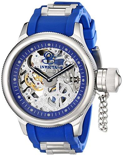 インビクタ 時計 インヴィクタ メンズ 腕時計 Invicta Men's 1089 Russian Diver Skeleton Analog Display Blue Watch インビクタ 時計 インヴィクタ メンズ 腕時計 Invicta Men's 1089 Russian Diver Skeleton Analog Display Blue Watch