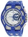 едеєе╙епе┐ ╗■╖╫ едеєеЇегепе┐ есеєе║ ╧╙╗■╖╫ Invicta Men's 14009 Akula Reserve Chronograph Silver Dial Blue Polyurethane Watch
