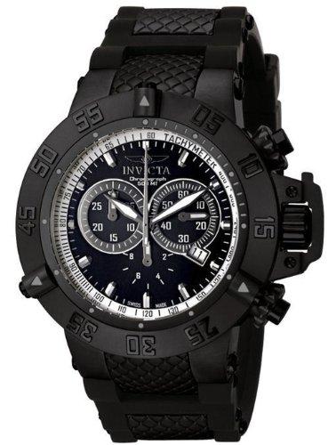 インビクタ 時計 インヴィクタ メンズ 腕時計 Mens Invicta 5508 Subaqua Noma III Chronograph Black Ion Plated Stainless Steel Case Black Rubber Strap Watch インビクタ 時計 インヴィクタ メンズ 腕時計 Mens Invicta 5508 Subaqua Noma III Chronograph Black Watch