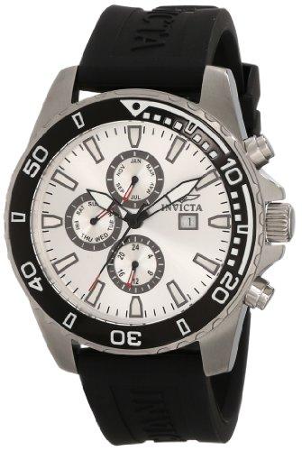 インビクタ 時計 インヴィクタ メンズ 腕時計 Invicta Men's 10920 Specialty Silver Dial Black Polyurethane Watch インビクタ 時計 インヴィクタ メンズ 腕時計 Invicta Men's 10920 Specialty Silver Dial Black Polyurethane Watch