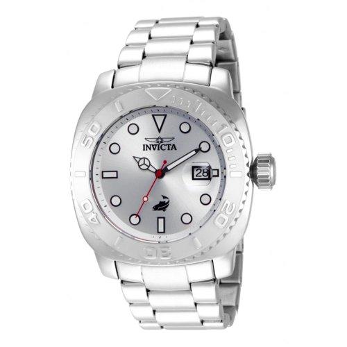 インビクタ 時計 インヴィクタ メンズ 腕時計 Invicta Men's 14482 Pro Diver Automatic Silver Dial Stainless Steel Watch インビクタ 時計 インヴィクタ メンズ 腕時計 Invicta Men's 14482 Pro Diver Automatic Silver Dial Stainless Steel Watch赤い