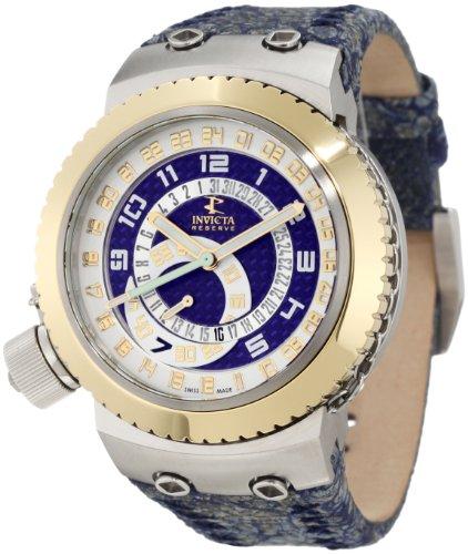 インビクタ 時計 インヴィクタ メンズ 腕時計 Invicta Men's 10007 Russian Diver Reserve Blue Dial Blue Leather Watch インビクタ 時計 インヴィクタ メンズ 腕時計 Invicta Men's 10007 Russian Diver Reserve Blue Dial Blue Leather Watch