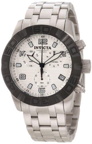 インビクタ 時計 インヴィクタ メンズ 腕時計 Invicta Men's 11453 Pro Diver Chronograph Silver Textured Dial Stainless Steel Watch インビクタ 時計 インヴィクタ メンズ 腕時計 Invicta Men's 11453 Pro Diver Chronograph Silver Textured Dial Stainless Steel Watch