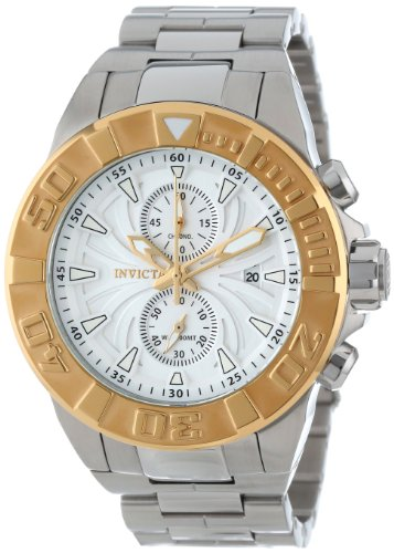 インビクタ 時計 インヴィクタ メンズ 腕時計 Invicta Men's 12307 Pro Diver Chronograph White Textured Dial Stainless Steel Watch インビクタ 時計 インヴィクタ メンズ 腕時計 Invicta Men's 12307 Pro Diver Chronograph White Textured Dial Stainless Steel Watch