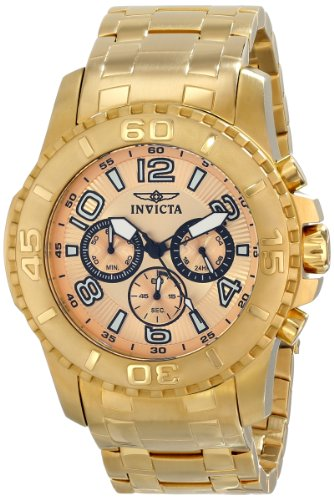 インビクタ 時計 インヴィクタ メンズ 腕時計 Invicta Men's 15022 Pro Diver Analog Display Japanese Quartz Gold Watch インビクタ 時計 インヴィクタ メンズ 腕時計 Invicta Men's 15022 Pro Diver Analog Display Japanese Quartz Gold Watch